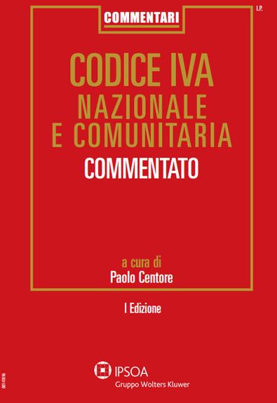 CODICE IVA NAZIONALE E COMUNITARIA I° EDIZ.