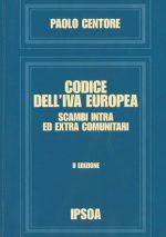 CODICE DELL'IVA EUROPEA